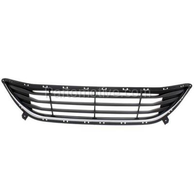 Aftermarket Replacement - GRL-1889C CAPA Front Bumper Grill Grille HY1036115 865603Y000 Fits 11-13 Elantra Sedan