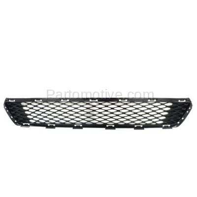 Aftermarket Replacement - GRL-1963C 2014 2015 Kia Optima (EX, EX Luxury, LX) (USA Built) Front Bumper Grille Assembly Black Honeycomb Mesh Plastic