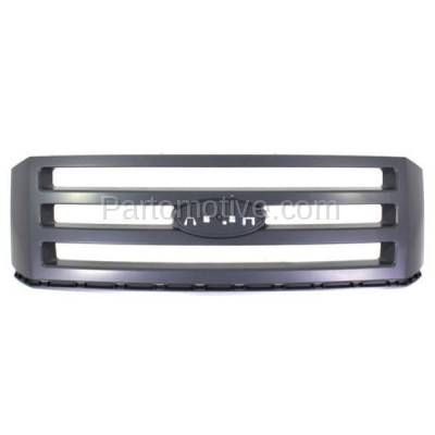 Aftermarket Replacement - GRL-1503C CAPA NEW 07-14 Expedition Front Grill Grille Primered FO1200496 7L1Z8200CPTM
