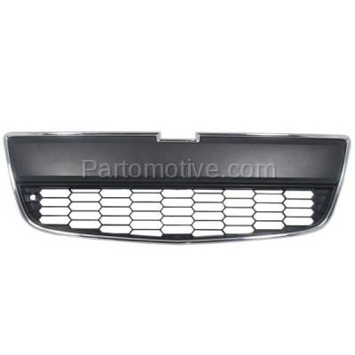 Aftermarket Replacement - GRL-1543C CAPA 12-16 Chevy Sonic Front Lower Bumper Grill Grille GM1036139 95227395