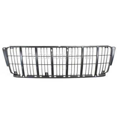 Aftermarket Replacement - GRL-1263C CAPA 99-03 Grand Cherokee Front Inner Grill Grille Rubber Insert CH1200222