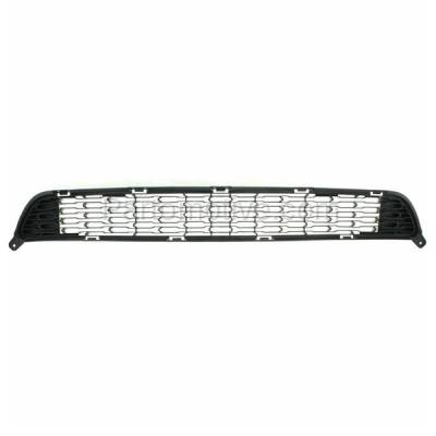 Aftermarket Replacement - GRL-1958C CAPA Front Lower Bumper Grill Grille KI1036115 865611U500 For 14-15 Sorento