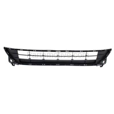 Aftermarket Replacement - GRL-2076C CAPA 14-16 Mazda6 Front Lower Bumper Cover Grill Grille MA1036122 GJR9501T1A