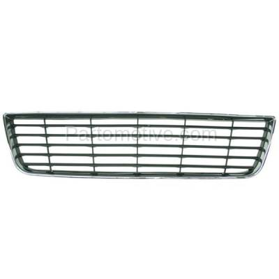 Aftermarket Replacement - GRL-1515C CAPA 06-11 Chevy Impala Front Lower Bumper Grill Grille GM1036106 10333711