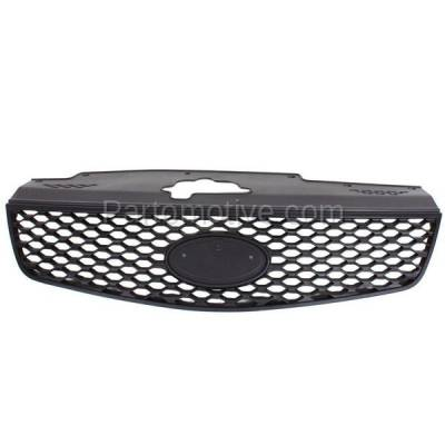 Aftermarket Replacement - GRL-1978C CAPA Front Grill Grille Honeycomb Insert KI1200125 863611G010 Fits 06-09 Rio