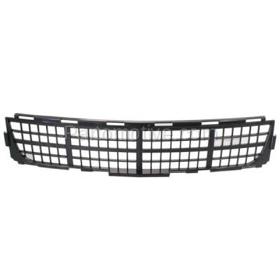 Aftermarket Replacement - GRL-1539C CAPA 11-14 Chevy Cruze Lower Bumper Grill Grille Black GM1036134 95963008