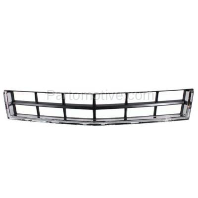 Aftermarket Replacement - GRL-1534C CAPA 10 11 12 SRX Lower Bumper Grill Grille Chrome/Black GM1036129 25778326