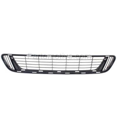 Aftermarket Replacement - GRL-2398C CAPA 13-15 Venza Front Lower Bumper Grill Grille Black TO1036137 531120T021