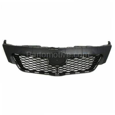 Aftermarket Replacement - GRL-2519C CAPA 09-10 Corolla USA Built Front Grill Grille Black TO1200304 5311102450
