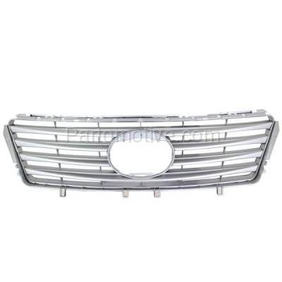 Aftermarket Replacement - GRL-2033C CAPA 10 11 12 ES-350 Grill Grille Silver w/Radar Cruise LX1200129 5311233090