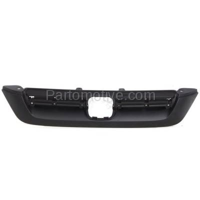Aftermarket Replacement - GRL-1846C CAPA 07 08 09 CRV Front Upper Face Bar Grill Grille HO1200186 71128SWA003ZA
