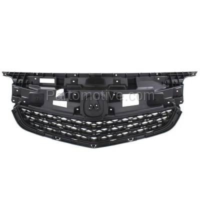 Aftermarket Replacement - GRL-1179C CAPA 12-14 Acura TL Front Grill Grille Mounting Panel AC1223100 75101TK4A11