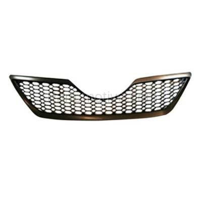 Aftermarket Replacement - GRL-2508C CAPA 07 08 09 Camry SE Front Grill Grille Black Shell TO1200291 5310106180C0