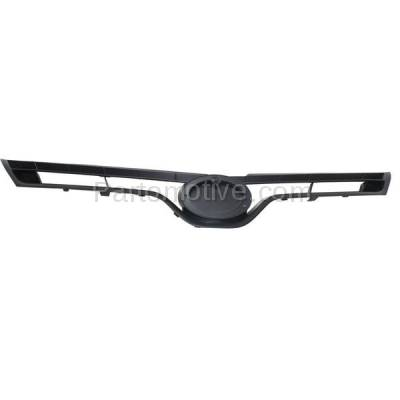 Aftermarket Replacement - GRL-2570C CAPA 14-15 Corolla Front Grill Grille Gray Shell/Insert TO1200366 5310002560