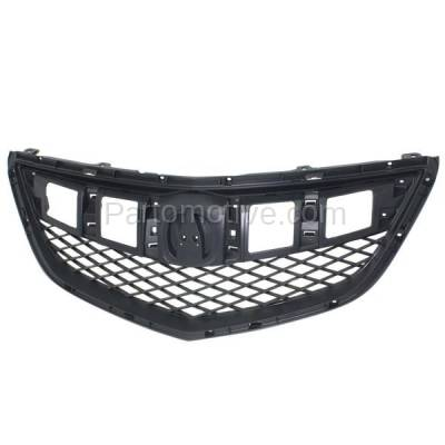Aftermarket Replacement - GRL-1177C CAPA 13-15 RDX Front Face Bar Grill Grille Dark Gray AC1200122 71121TX4A01