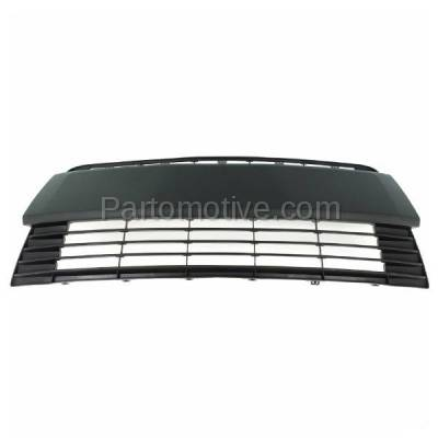 Aftermarket Replacement - GRL-2404C CAPA NEW 14-15 Corolla Front Lower Bumper Grill Grille TO1036145 5311202450