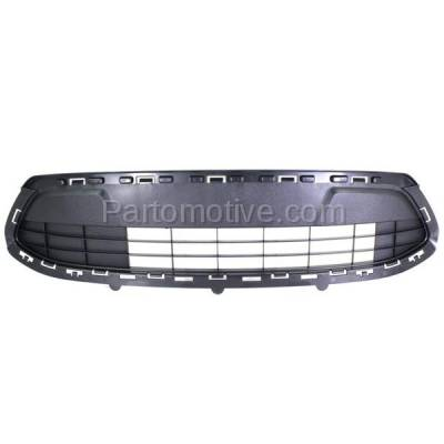 Aftermarket Replacement - GRL-1380C CAPA 11 12 13 Fiesta SE Front Lower Bumper Grill Grille FO1036140 AE8Z8200LA