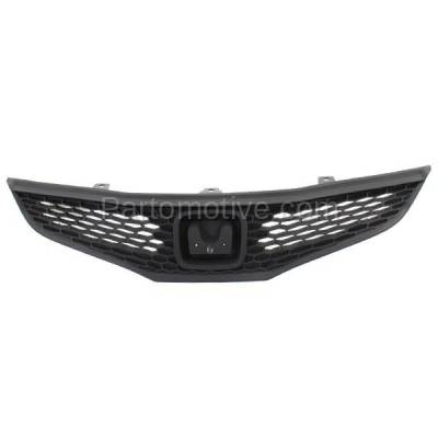 Aftermarket Replacement - GRL-1855C CAPA 09-13 FIT Hatchback Front Face Bar Grill Grille HO1200201 71121TK6A01