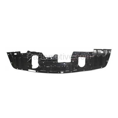 Aftermarket Replacement - ESS-1502C CAPA For 08-15 Lancer Front Engine Splash Shield Under Cover Undercar 5379A537