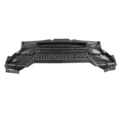 Aftermarket Replacement - ESS-1139C CAPA For 09-10 Focus Coupe Front Engine Splash Shield Under Cover/Air Deflector