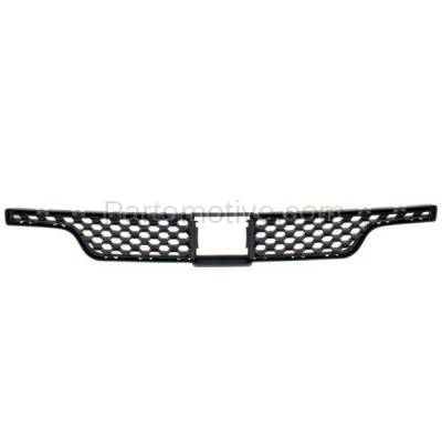 Aftermarket Replacement - GRL-1222C CAPA 11 12 13 Durango Front Bumper Face Bar Insert Grill Grille 68089176AB