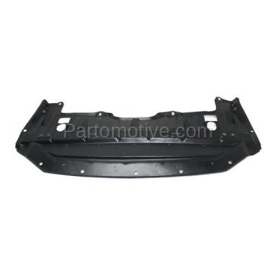 Aftermarket Replacement - ESS-1513C CAPA For Front Engine Splash Shield Under Cover Undercar For 13-15 Altima Sedan