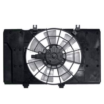 TYC - FMA-1094TY TYC 00-01 Dodge Neon Radiator A/C Condenser Cooling Fan Motor Assy Blade Shroud