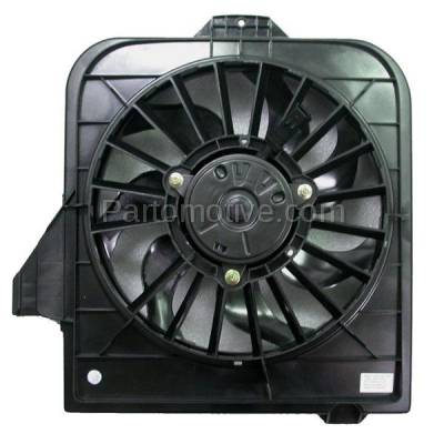 TYC - FMA-1086TY TYC 01-05 Town&Country Caravan GR Voyager Radiator Engine Cooling Fan Motor Assy