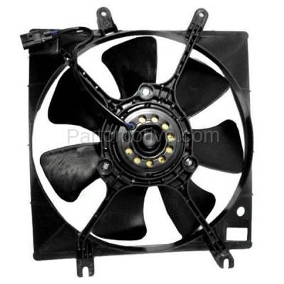 TYC - FMA-1280TY TYC 00-01 Spectra (To 2/01) 98-01 Sephia Radiator Engine Cooling Fan Motor Assy