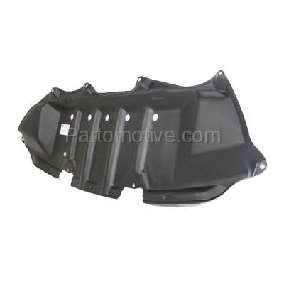 Aftermarket Replacement - ESS-1637C CAPA For 09-13 Corolla Front Engine Splash Shield Under Cover Guard 5145102040