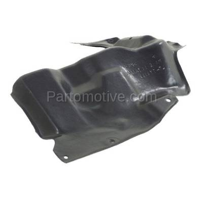 Aftermarket Replacement - ESS-1592LC 2014-2016 Toyota Corolla 1.8L (with Automatic CVT Transmission) Front Engine Under Cover Splash Shield Undercar Guard Left Driver Side