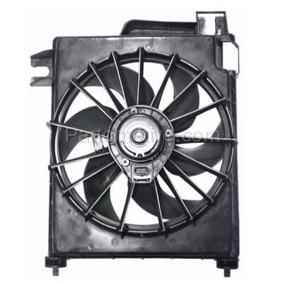 TYC - FMA-1091TY TYC 02-08 Dodge Ram Pickup Truck (New Style) AC Condenser Cooling Fan Motor Assy