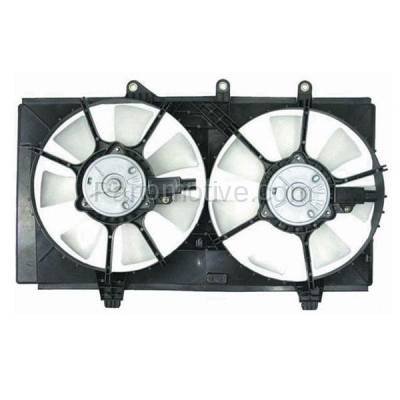 TYC - FMA-1101TY TYC 03 04 05 Dodge Neon 2.4L Dual Radiator A/C Condenser Cooling Fan Motor Assy