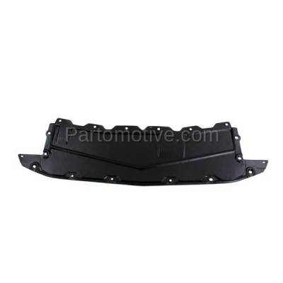 Aftermarket Replacement - ESS-1516C CAPA For Front Engine Splash Shield Under Cover Undercar For 12-14 Versa Sedan