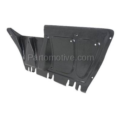 Aftermarket Replacement - ESS-1666C CAPA For 98-05 Beetle Center Engine Splash Shield Under Cover Guard 1J0825237P