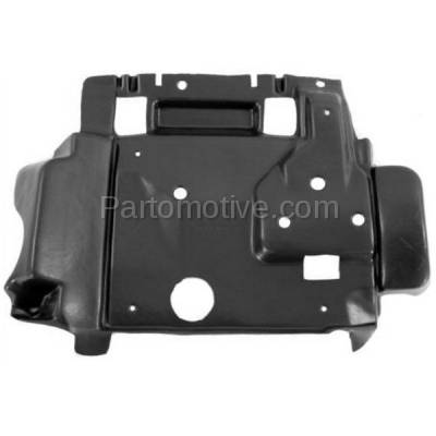 Aftermarket Replacement - ESS-1096C CAPA For 07-11 Nitro 08-12 Liberty Engine Splash Shield Under Cover w/o Foam
