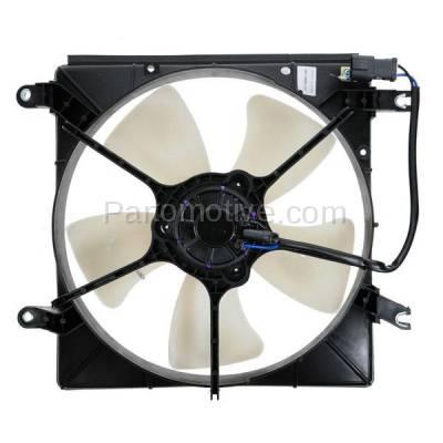 TYC - FMA-1163TY TYC 94 95 96 97 Honda Accord 2.2L (DENSO) Radiator Engine Cooling Fan Motor Assy