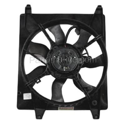 TYC - FMA-1285TY TYC 06-10 Sedona 07-08 Entourage Radiator Engine Cooling Fan Motor Assy w/Shroud
