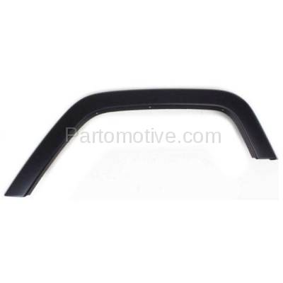 Aftermarket Replacement - FDF-1032LC CAPA For 07-17 Wrangler JK Rear Fender Flare Wheel Opening Molding Trim Left
