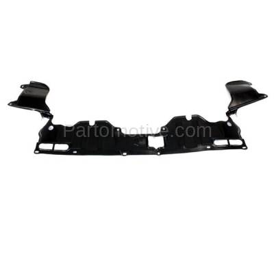 Aftermarket Replacement - ESS-1252C CAPA For 06-11 Civic Front Engine Splash Shield Under Cover Guard 74111SNAA00