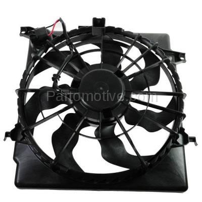 TYC - FMA-1319TY TYC 11-13 Optima Sonata Radiator AC Condenser Cooling Fan Motor Assy 25380-3Q280