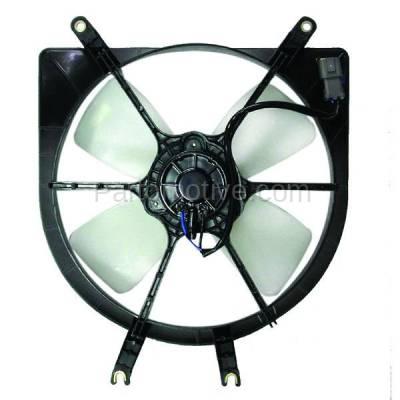 TYC - FMA-1165TY TYC 92 93 94 95 96 97 98 Civic (DENSO) Radiator Engine Cooling Fan Motor Assy