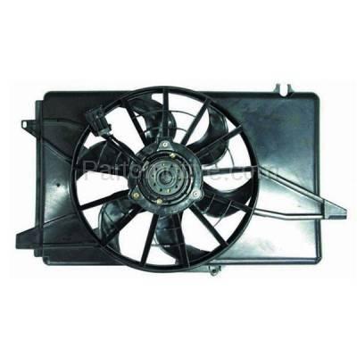 TYC - FMA-1115TY TYC 94-95 Taurus Sable Radiator AC Condenser Cooling Fan Motor Assy F4DZ 8C607 B