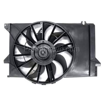 TYC - FMA-1129TY TYC 92-93 Tempo Topaz Radiator AC Condenser Cooling Fan Motor Assy F23Z 8C607 C