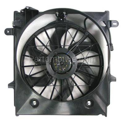 TYC - FMA-1147TY TYC 01-11 Ranger Pickup Truck with AC Radiator Condenser Cooling Fan Motor Assy