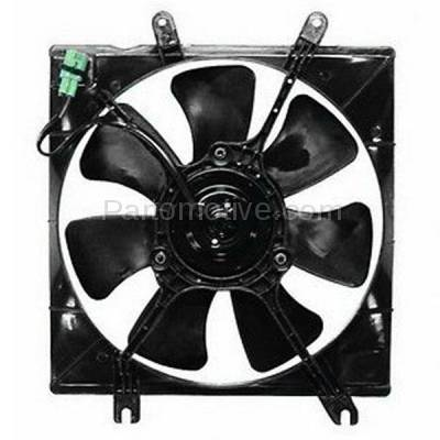 TYC - FMA-1279TY TYC 01-04 Spectra Automatic Transmission Radiator Engine Cooling Fan Motor Assy