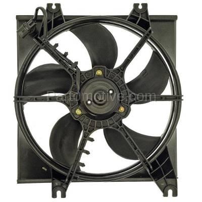 TYC - FMA-1226TY TYC 00 01 02 03 04 05 06 Accent Radiator Engine Cooling Fan Motor Assy w/ Shroud