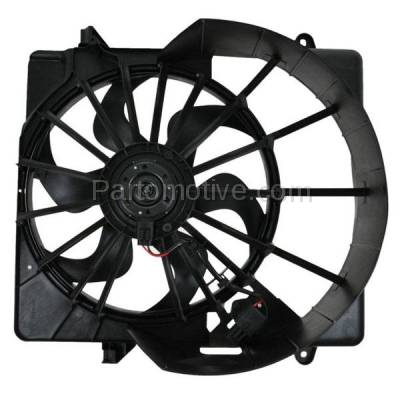 TYC - FMA-1276TY TYC 08 09 10 11 12 Liberty 3.7L V6 Radiator A/C Condenser Cooling Fan Motor Assy