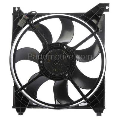 TYC - FMA-1286TY TYC Radiator Engine Cooling Fan Motor Assy Shroud & Blade For 04 05 06 Amanti V6
