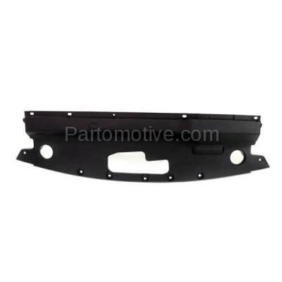 Aftermarket Replacement - RSP-1876 15-18 Edge Front Upper Radiator Support Sight Shield Splash Cover Air Deflector Panel Black Textured